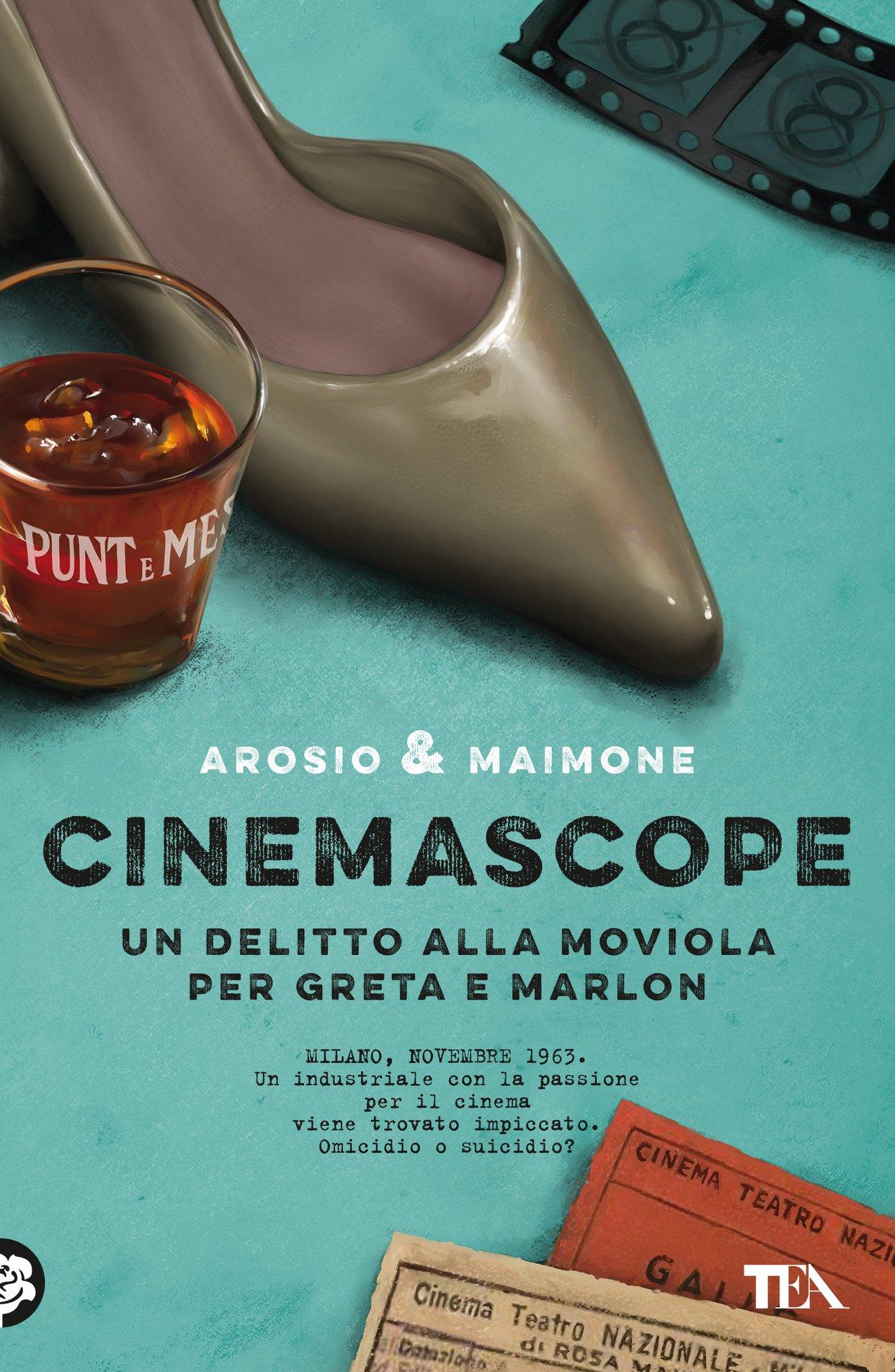 Cinemascope (Un delitto alla moviola per Greta e Marlon)